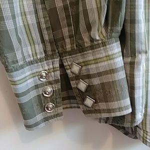 Lucky Brand Shirts - Lucky Brand Men's Western Shirt Sz XL
